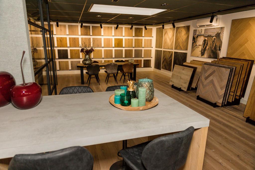 Showroom parketvision dijkgraaf